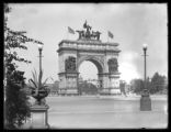 Grand Army Plaza monument at Prospect Park, 'To the defenders of the Union, 1861-1865,' Brooklyn,...