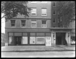 Broadway side of storefront at the corner of Broadway and West 146th Street, New York City, May...