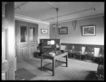 [Webb's Academy music room or lounge?], Bronx, ca. June 1915.