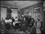 Miss Garland's Bible class, 69 W. 99th Street, New York City, March 6, 1916. Photographed for the...