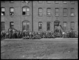 Employees of the National Casket Company, Oneida, N.Y., April 3, 1916. Photographed for the...