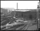 Boiler shop extension at the Robins Dry Dock and Repair Company, Erie Basin, Brooklyn, July 28,...