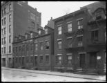 15, 17, 19, and 21 Renwick Street, New York City, April 15, 1917. Photographed for Joseph P. Day.
