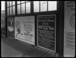 Advertisement for James Gordon Bennett estate auction on June 10, 1919, posted in the 157th Street...