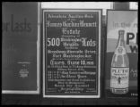 Advertisement for James Gordon Bennett estate auction on June 10, 1919, posted in an unidentified...