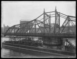 Macombs Dam Bridge in the open position, Harlem River, New York City, undated (ca. 1914-1921).