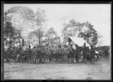African American soldiers in military camp, location unknown, undated (ca. May 1917).