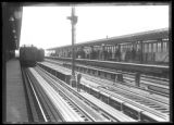 167th Street elevated subway station, Bronx, undated [ca. August 1918]. Probably photographed for...