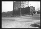Unidentified intersection of Jerome Avenue near the Macombs Dam Bridge, Bronx, undated [ca....