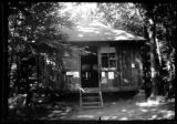 Unidentified campground cabin ('The Automat'), undated  (ca. 1939).