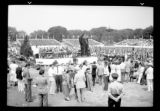 Crowd watching an unidentified open-air unveiling or ceremony, undated (ca. 1939).