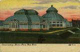 Conservatory, Bronx Park, New York