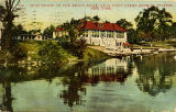 Boat House on the Bronx River, near West Farms subway station, New York