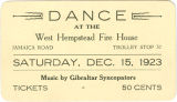 [Fire house dance ticket]
