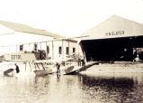 H.N. Slater Airplane Hangar, Port Washington, ca. 1925