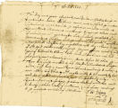 Chickanoe testimony, Oct. 7, 1665