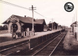 The Massapequa Railroad Station