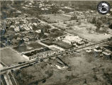 Aerial Photo of Massapequa's First Shopping Center