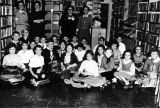Group of children at the Massapequa Storefront Library