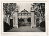 Entrance to Forecourt, Country House, Herbert Lee Pratt, Glen Cove, L. I.