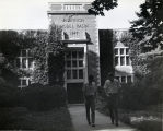 [Alumni Gymnasium at Webb Institute of Naval Architecture.]