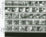 Contact sheet for photographs of a child's medical examination
