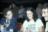 Adeline Levine, Lois Gibbs, and Stephen Lester at the Love Canal Homeowners Association Active...