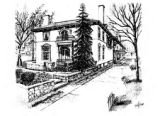 Appleton Mansion: 1989 Junior League Decorators' Show House (drawing).