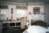 Buffalo Seminary Larkin House: 1999 Junior League Decorators' Show House  interior: girl's bedroom...
