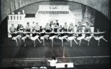French cafe number performed by members of the Junior League of Buffalo at their Follies at the...