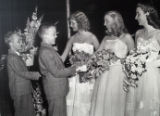 Debutantes in the receiving line at the Twentieth Century Club of Buffalo