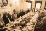 Luncheon in the Twentieth Century Club private dining room