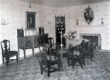 Room furnished with Miss Charlotte Mulligan's cabinet by the Twentieth Century Club of Buffalo for...