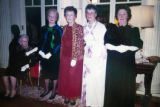 Past Presidents form the receiving line at the Twentieth Century Club of Buffalo's  100th...