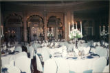 Clubhouse grand ballroom is decorated and set for the Twentieth Century Club of Buffalo's 100th...