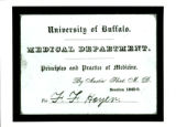 Admission ticket to class taught by Austin Flint