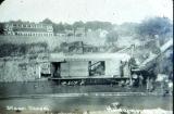 Steam shovel digging Barge Canal