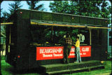 People on Beauchamp Historical Club trailer