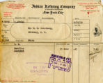 Gas Bill from Indian Refining Company