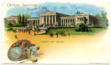 Albright Art Gallery postcard, Pan-American Exposition