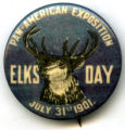 Elks Day pin, Pan-American Exposition