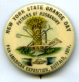 New York State Grange Day pin, Pan-American Exposition