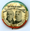 Mexico Day pin, Pan-American Exposition