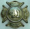 Lockport Fire 41 Badge