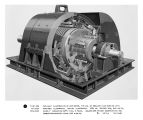 Cut-away illustration of M33 motor, typical of smaller size machine with features illustrated:...