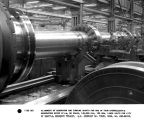Alignment of generator and turbine shafts for one of four hydroelectric generators rated ATI-W, 60...