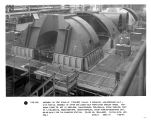 Assembly on test stand of (170X182) TVA-No. 2 Paradise, low-pressure unit - with partial assembly...