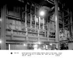 bottom section of heating furnace showing intake to four zones.  Youngstown Sheet & tube Co.,...