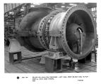250,000 CFM axial-flow compressor - left side, front oblique view, ML-7LF-320B1-2, photo taken...