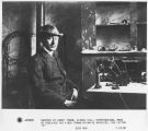 Guglielmo Marconi at Cabot Tower, Signal Hill, Newfoundland, Canada, when he received the first...